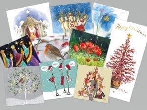 this year's bumper pack of assorted cards