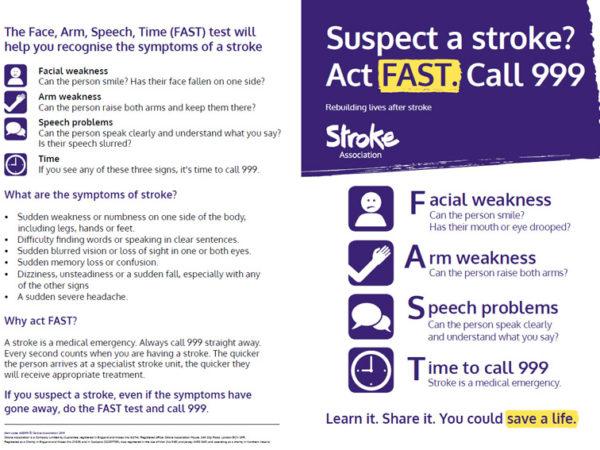 FAST A5 leaflet front