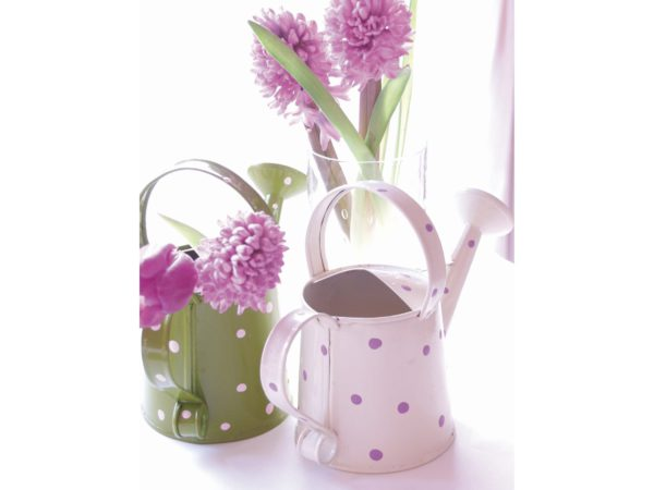 Image of a floral notelet