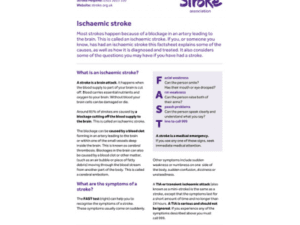 Image of Ischaemic stroke publication