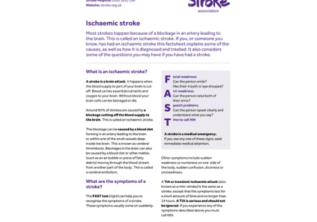 Image of Ischaemic stroke publication