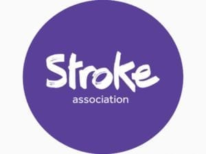 Image of Stroke association sticker