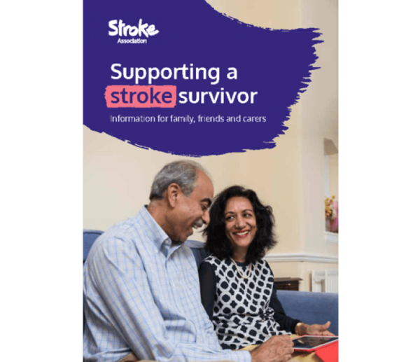 Image of supporting a stroke survivor guide