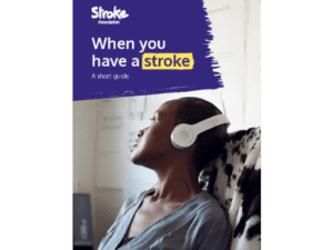 Image of when you have a stroke publication