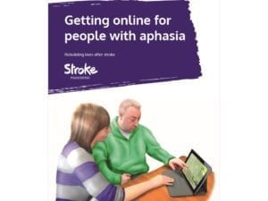 Image of Getting online for people with aphasia booklet