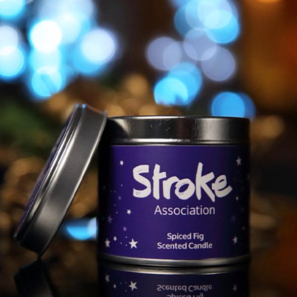 Image of Stroke Association candle